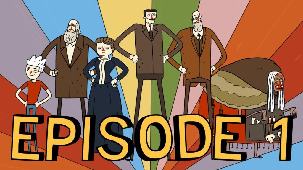 "Super Science Friends - Episode 1 ""The Phantom Premise"""