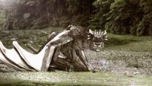 Dudes & Dragons (Dragon Combat Scene)
