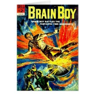 Brain Boy and The Time Machine